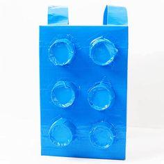 Easy DIY LEGO brick costume