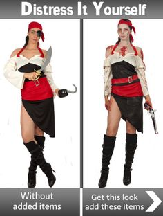 f7c880c9a8 Destress It Yourself Zombie Sassy Pirate Exclusive to Angels Fancy Dress  Costumes. Give your costume