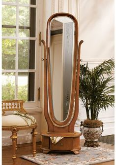 Victorian English Style Full Length Floor Standing Mirror *** For more information, visit image link. (This is an affiliate link and I receive a commission for the sales)