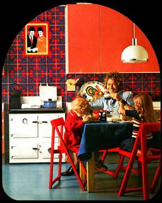 kitchen design, 1974