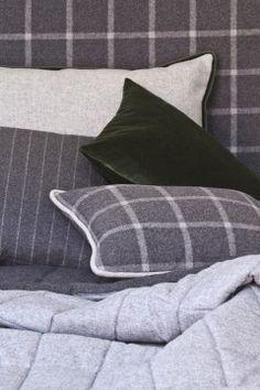 C&C Milano - Telio Interior Furnishings Home Furnishings, Throw Pillows, Contemporary, Aspen, Fabrics, Textiles, Stripes, Interiors, Decor