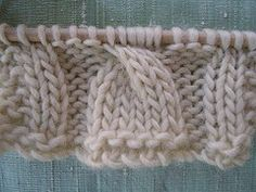 How to cable, plus a cool arm warmer pattern