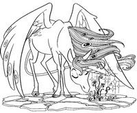 9 Best Cartoons Images On Pinterest Coloring Pages Colouring
