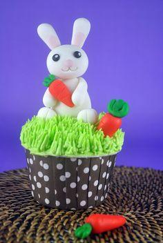 How to Make a Fondant Bunny - Bake Happy