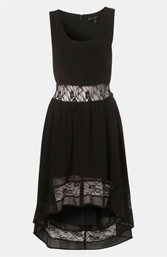 @Topshop Lace Inset Dress | #Nordstrom