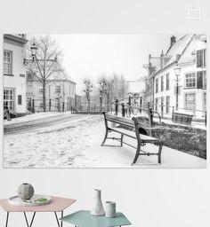 Nieuw in mijn Werk aan de Muur shop: Sneeuw Havik historisch Amersfoort