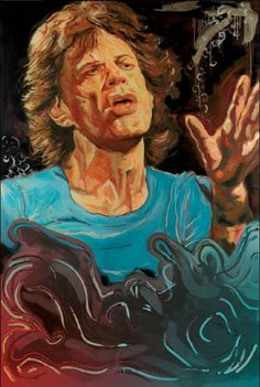 The Blue Smoke Series - Mick 26x17.5