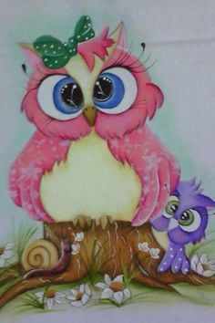 Love my Izzy😊 Tole Painting, Fabric Painting, Owl Artwork, Owl Wallpaper, Whimsical Owl, Quilled Creations, Paper Owls, Owl Pictures, Owl Always Love You