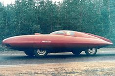 Gaz-Torpedo. Another sports concept car from Soviet aircraft builders. In 1951, attempting to create a new vehicle, aeronautical engineers designed a new body completely from scratch. Using the same aircraft materials (duralumin and aluminium), designer A. Smolin built a tear-shaped streamlined body 6.3 m long, 2.07 m wide, and 1.2 m high, weighing a total of 1100 kg. Unfortunately, the car did not stand out for its speed and remained a prototype, but one survives to this day and is now on…