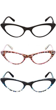 3 Cat Eye Glasses to spice up your closet | Readers.com