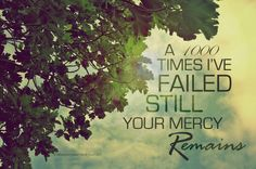 Your mercy remains