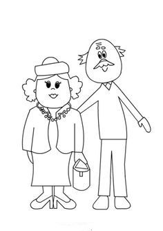 Grandparents Day, Doodle Drawings, Grandkids, Coloring Pages, Diy And Crafts, Preschool, Doodles, Clip Art, Embroidery