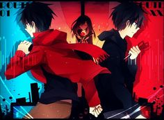 Shintaro and Ayano - Lost Time Memory || Kagerou Project