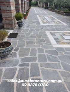 Kimba slate is a beautiful natural stone paver sourced directly from Greece.  Kimba slate stone crazy paving is extremely dense and an ideal choice of flooring for external applications. Arthur slate is a popular choice of stone in driveway and garden floors.