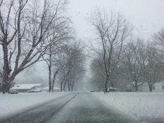 Winter in Sandusky,  Ohio.