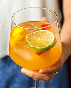 This spicy summer sangria incorporates peaches and jalapeños. The peach calms the intense heat of the jalapeño, while the hot pepper makes the sweet fruit a little more interesting.