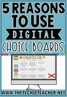 Digital Choice Boards are a great way to differentiate learning while engaging students in meaningful, paperless activities. Come learn how and why I use digital choice boards in Google Slides for reading responses, spelling/word study practice and vocabu Art Education Lessons, Waldorf Education, Choice Boards, Education And Training, Texas Education, Education City, Business Education, Higher Education, Reading Response