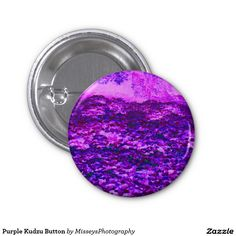 Purple Kudzu Button $2.20