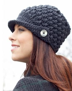 Keep Cozy: 12 Free Crochet Hat Patterns | diycandy.com