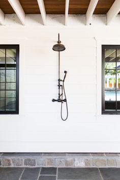 Outdoor Shower || Studio McGee