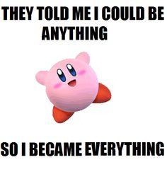 kirby knows it