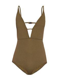 Bathing Suits - Zimmerman V-neck swimsuit | allure.com