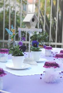 Simply Suzanne's AT HOME: garden fairy birthday