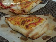 No Salt Recipes, Pizza Recipes, Vegetarian Recipes, Cooking Recipes, Tortillas, Pizza Mania, Focaccia Pizza, Road Trip Food, Panini Sandwiches