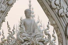 Wat Rong Khun buddhista templom Blog Entry, Buddhism, Statue, Inspiration, Design Ideas, Google Search, Biblical Inspiration, Sculptures, Inspirational