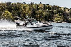 The Axopar 28 OC in action around the Stockholm Archipelago in Soring 2014. #axopar #axoparboats #mercurymarine #verado