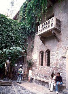 Juliet Capulet's House, Verona Italy  Take me back ❤