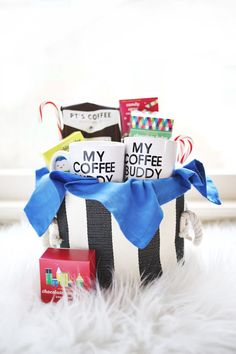 His + Hers Coffee Gift Basket - A BEAUTIFUL MESS