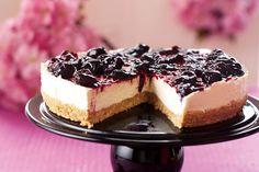 Recipe: Nigella Lawson's cherry cheesecake—Nigella Lawson's unbaked cherry cheesecake is easy to make and delicious to taste.