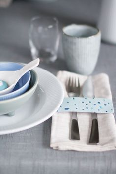Table setting for winter Photo/styling: Marianne de Bourg