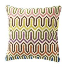 Missoni Pillows in my bedroom. Makes me happy!