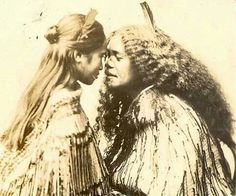 Hongi :: White Wolf: Women in Maori Culture: the sacredness of women (With Video)