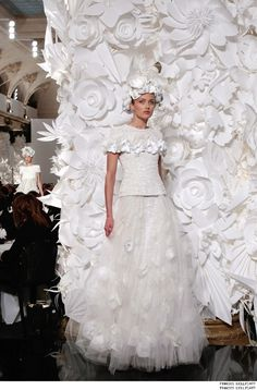 Haute Couture Spring/Summer 2009 Collections - CHANEL