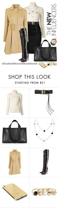 """LIZ"" by elizabethhorrell ❤ liked on Polyvore featuring Emanuel Ungaro, Hermès, Paule Ka, Maison Margiela, Corto Moltedo, Bling Jewelry, RED Valentino, Christian Louboutin, Goldgenie and GUESS"