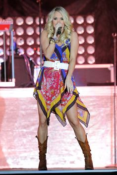 Carrie Underwood American Idol, Stagecoach Festival, Carrie Underwood Pictures, This Girl Can, All American Girl, Country Music Singers, Country Artists, Country Girls, Star Fashion