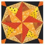 Lucky Star  Paper Pieced - via @Craftsy