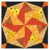 Lucky Star  Pieced Paper   - via @Craftsy