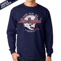 New England Football Passion History Pride T-Shirt