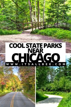 Guide to top take best state parks near Chicago Illinois. Beautiful trails, stunning scenery for relaxation or adventures. From Matthiessen State Park, Illinois Beach State Park, Channahon State Park, Indiana Dunes State Park and many more amazing State Parks in Illinois. | Best Parks Near Chicago | National Parks Near Chicago | Nature Parks Near Chicago | Illinois State parks | Things To Do In Chicago | Chicago Places To Visit | Chicago Travel Tips | Chicago Travel Guide Chicago Places To Visit, Visit Chicago, Chicago Travel, Michigan Travel, Travel Usa, Illinois State Parks, Chicago Illinois, Chicago Chicago, Places To Travel