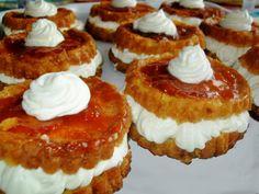 Romanian savarina - identical to French baba au rhum and Polish rum syrup-soaked Polish babka. Romanian Desserts, Romanian Food, Romanian Recipes, Easy To Make Desserts, Hungarian Recipes, Pastry Cake, Cake Cookies, Sweet Recipes, Cheesecake