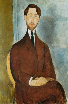 Titre de l'image : Amadeo Modigliani - Leopold Zborowski