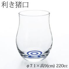 Riki Inoguchi tasteful glass liquor Glass for drinking delicious sake Sakeglass