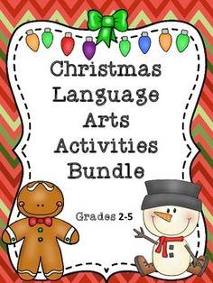 Christmas: Language Arts Bundle