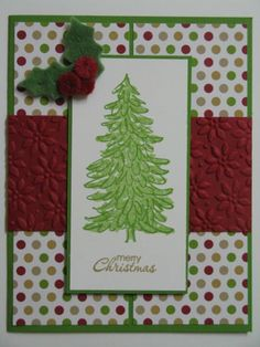 Evergreen Season by hmkat - Cards and Paper Crafts at Splitcoaststampers