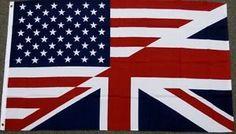 Half American British Flag Us Uk Friendship Banner Union Jack New American Flag Cake, Uk Flag, Pennant Banners, Barn Quilts, Wooden Crafts, Union Jack, Photo Art, Tatting, Creative