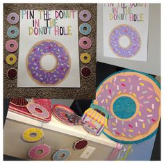 Donut day for spring forward and kids wear pjs - Donuts - 2nd Birthday Party Themes, Donut Birthday Parties, Donut Party, Birthday Party Games, Third Birthday, 1st Birthday Girls, Birthday Fun, Birthday Ideas, Grown Up Parties